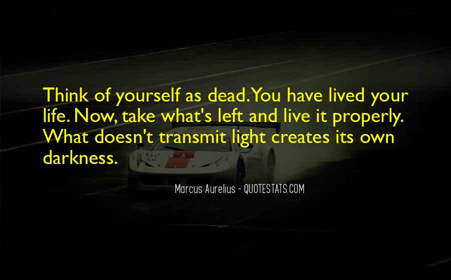 Live Your Own Life Quotes #900453