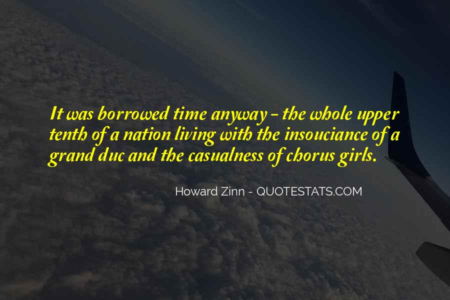 Living Borrowed Time Quotes #62694