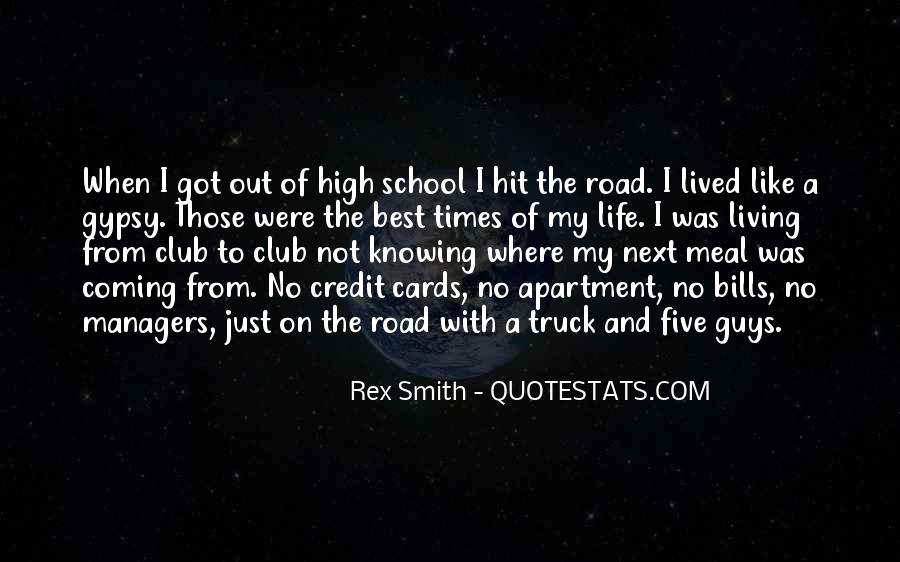 Living High Life Quotes #158614