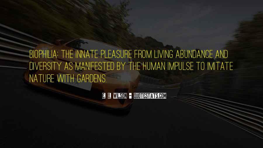 Living In Abundance Quotes #1187798