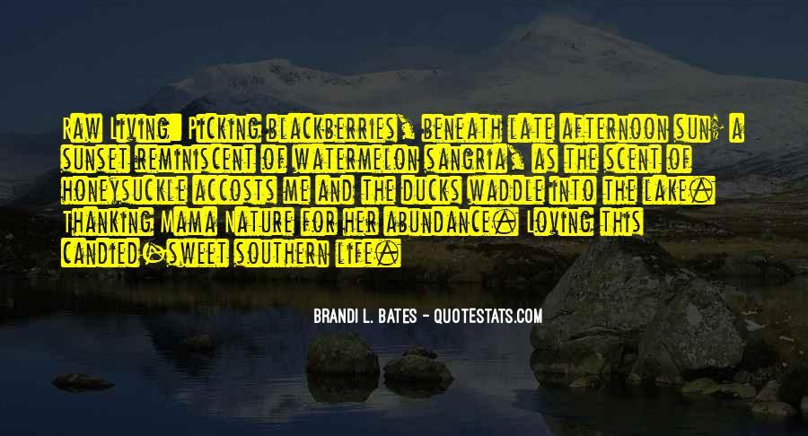Living In Abundance Quotes #1189360