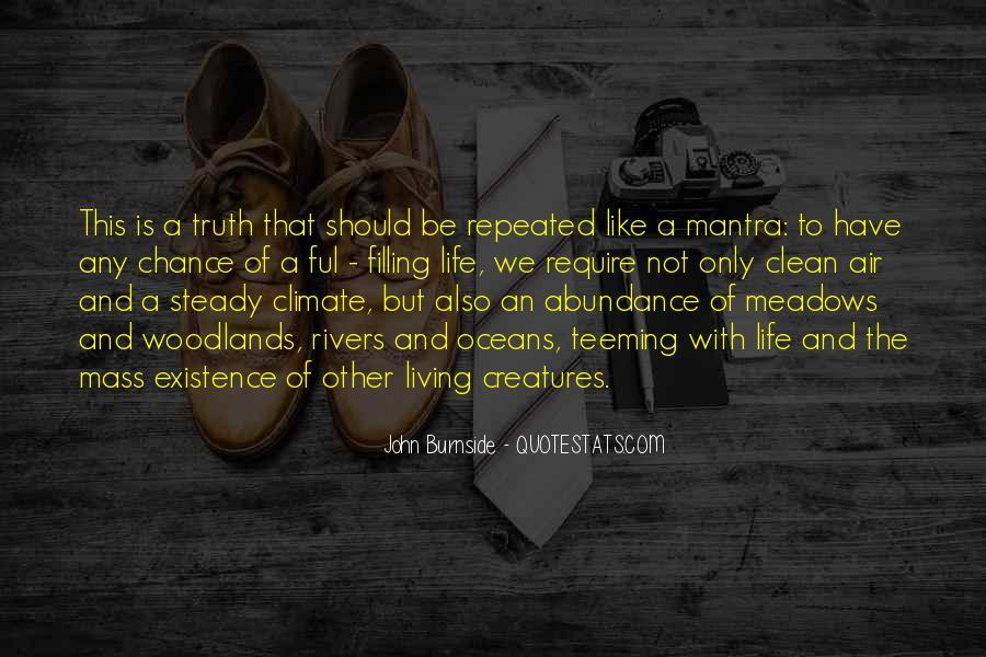 Living In Abundance Quotes #1204364