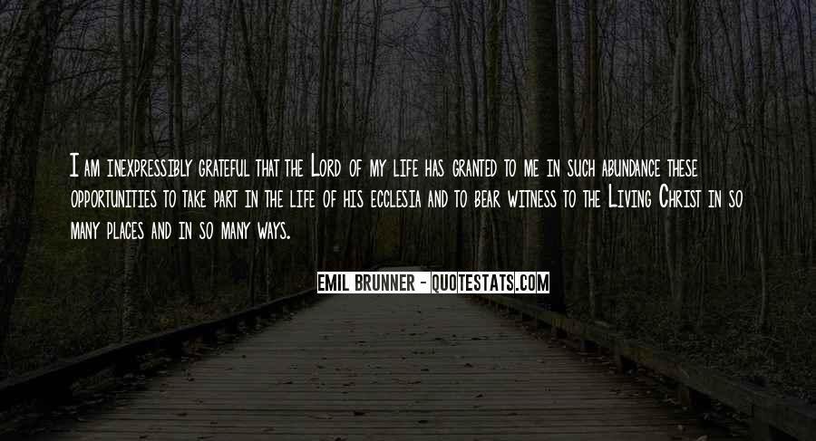 Living In Abundance Quotes #23369
