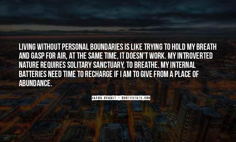 Living In Abundance Quotes #266393