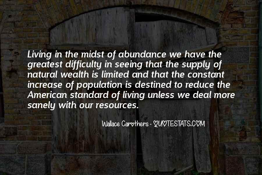 Living In Abundance Quotes #34883