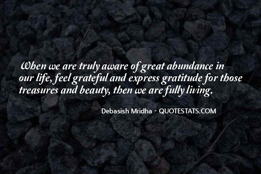 Living In Abundance Quotes #456715