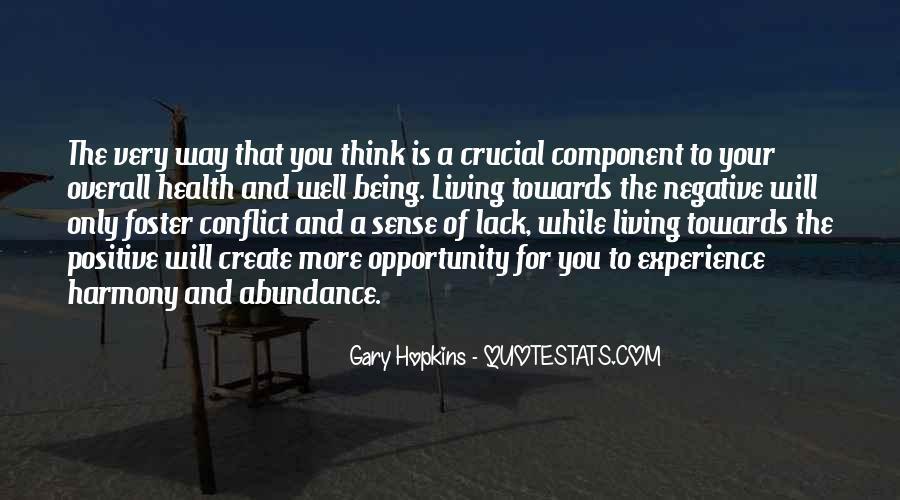 Living In Abundance Quotes #478313