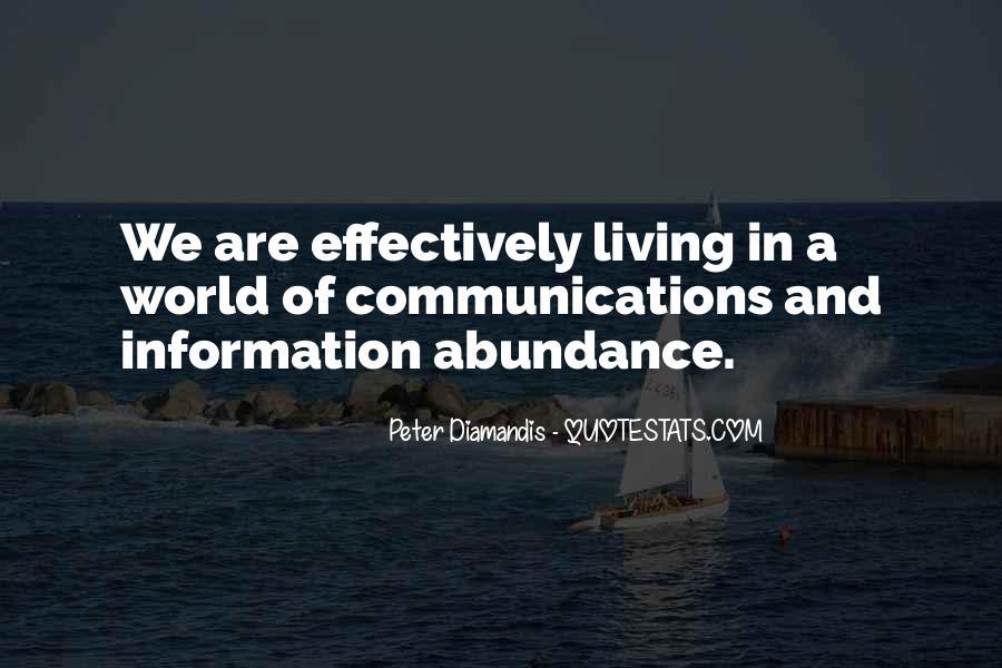 Living In Abundance Quotes #932873