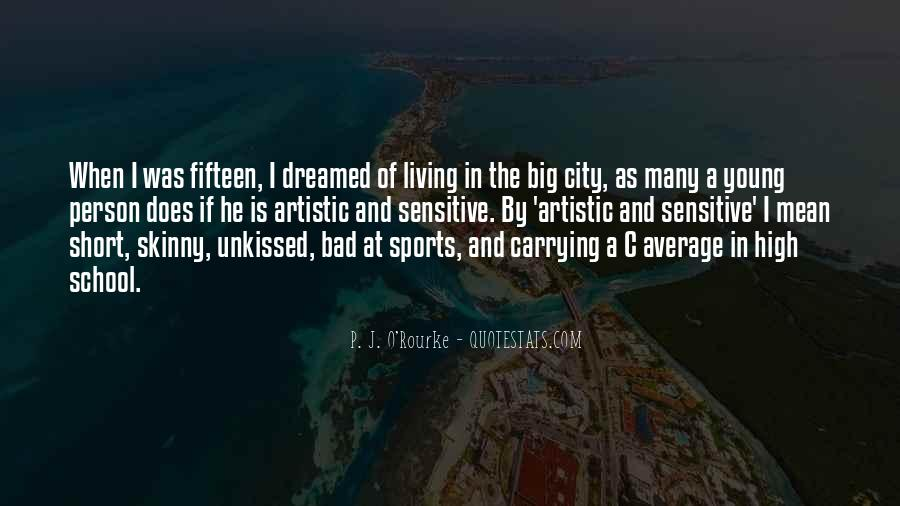 Living In Big City Quotes #1712076