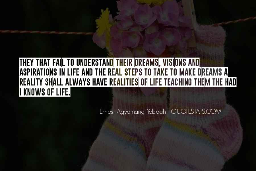 Living In Dreams Quotes #1086721
