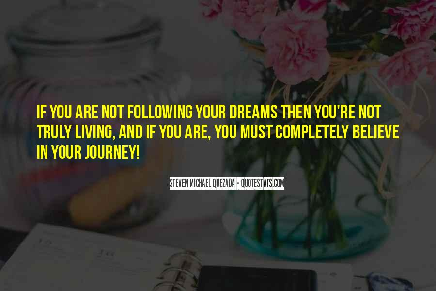 Living In Dreams Quotes #1112452