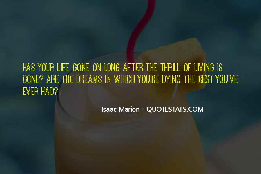 Living In Dreams Quotes #1127140