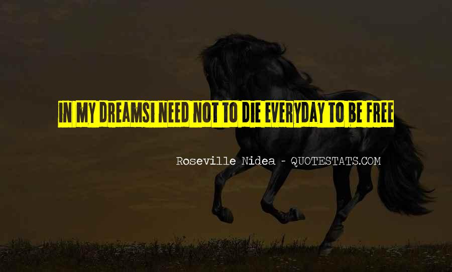 Living In Dreams Quotes #1155050
