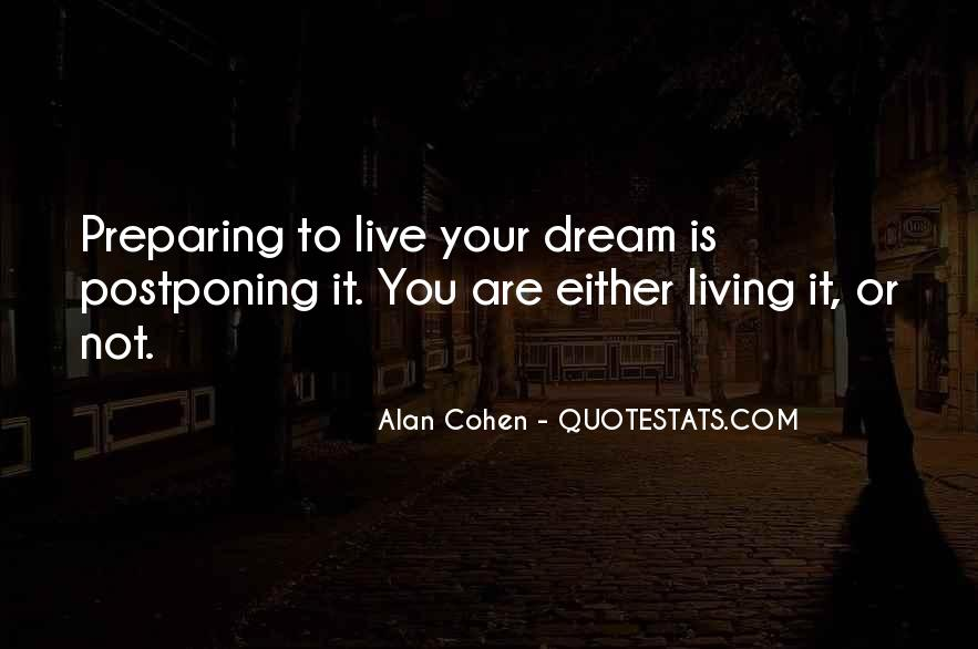 Living In Dreams Quotes #1176647