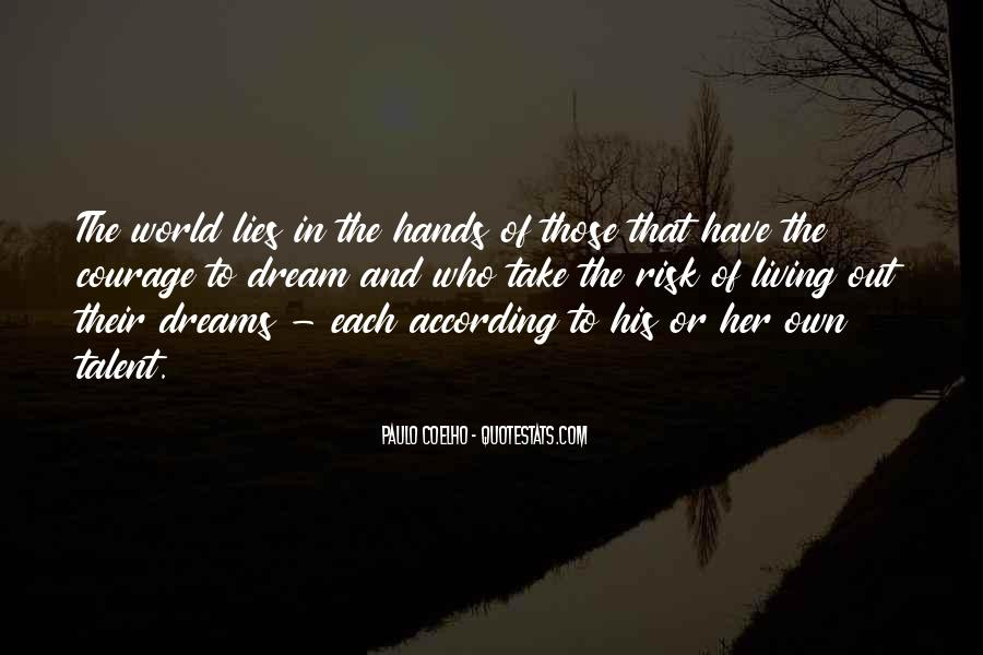 Living In Dreams Quotes #1670317