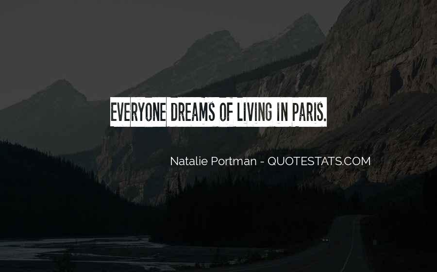 Living In Dreams Quotes #1674199
