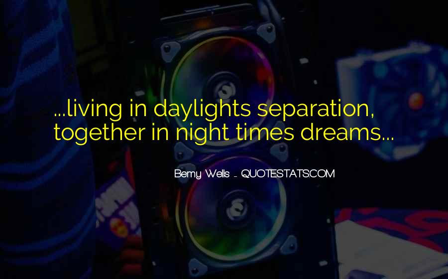 Living In Dreams Quotes #1694514