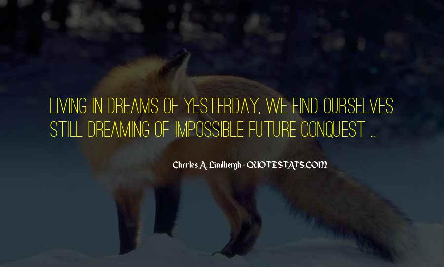 Living In Dreams Quotes #33108