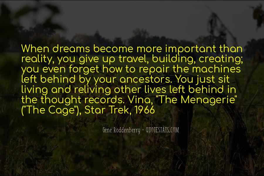 Living In Dreams Quotes #567058
