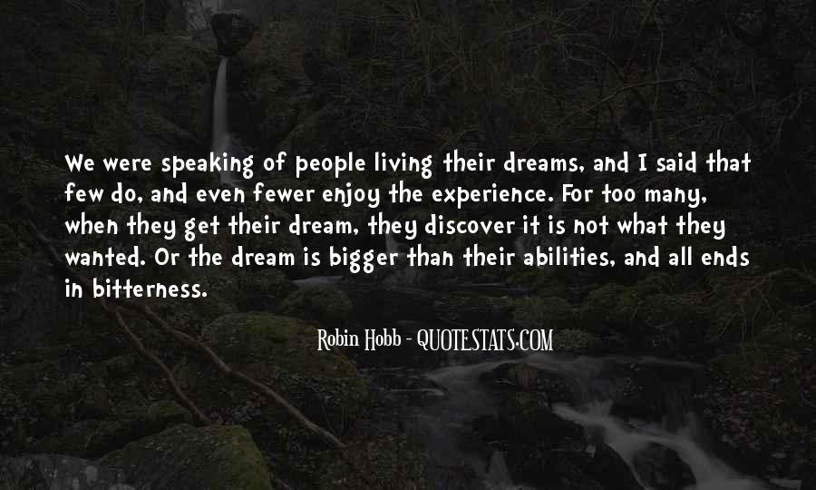 Living In Dreams Quotes #711479