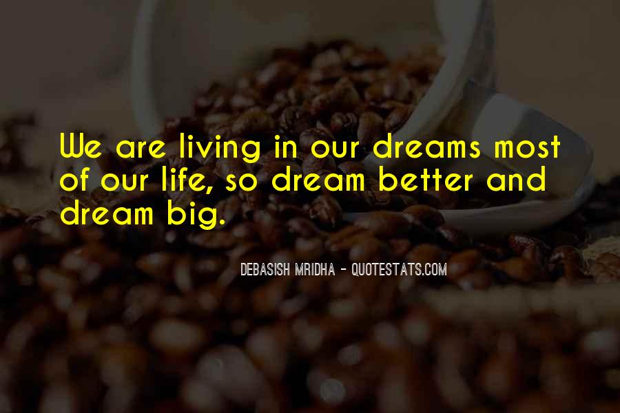 Living In Dreams Quotes #989810