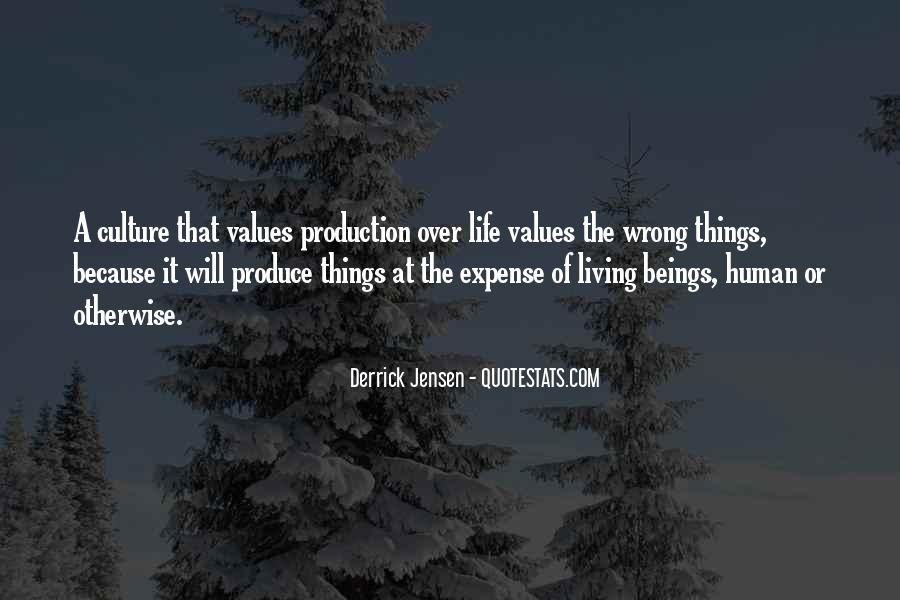 Living Our Values Quotes #137514