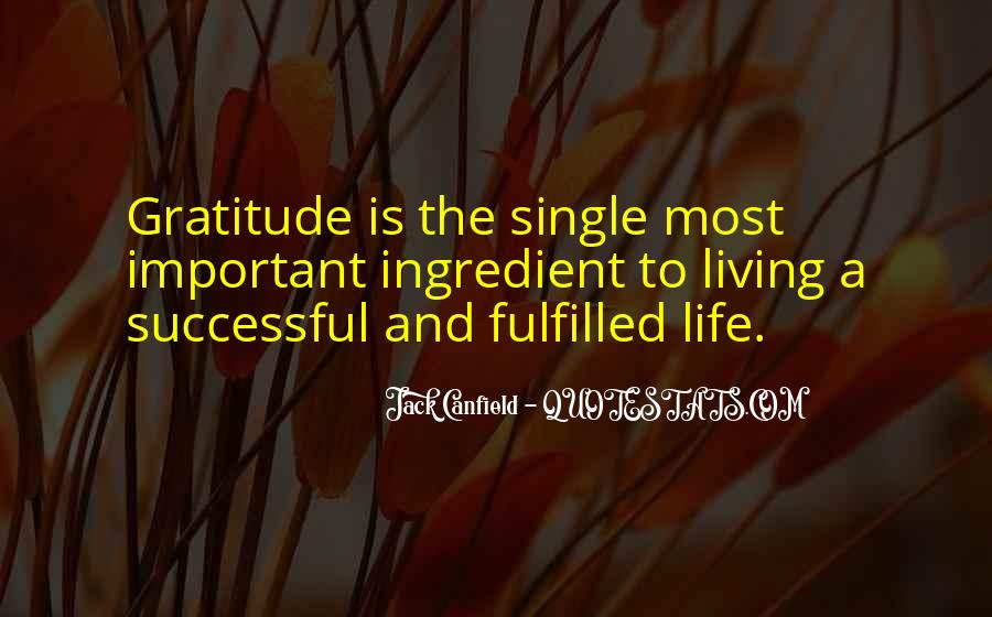 Living With Gratitude Quotes #1003654