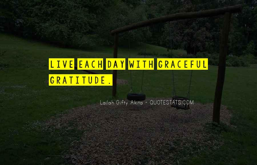 Living With Gratitude Quotes #1684750