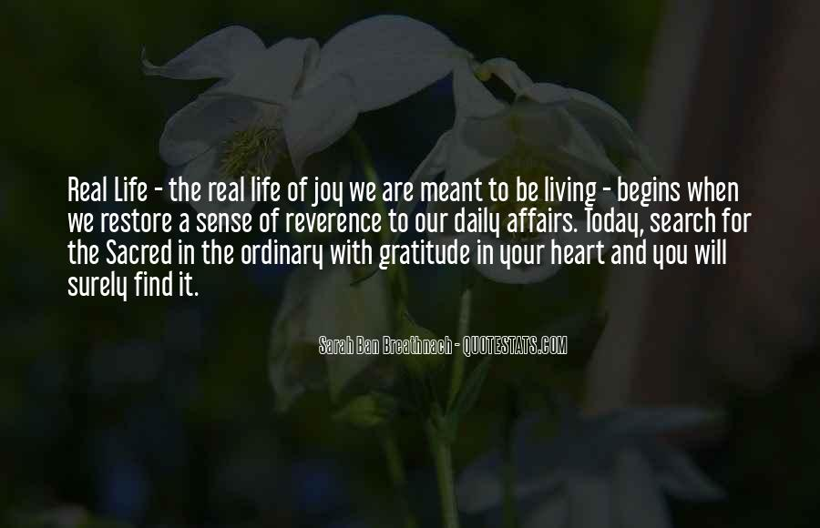 Living With Gratitude Quotes #1825651