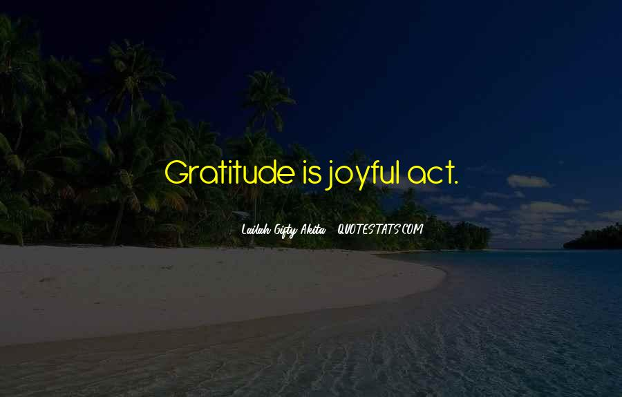 Living With Gratitude Quotes #20436