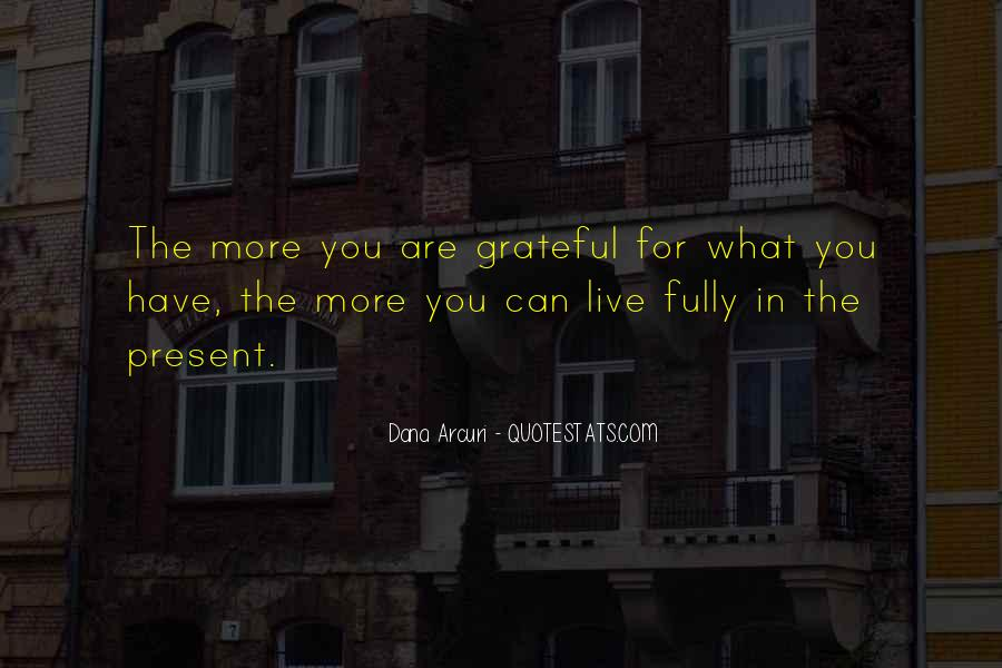 Living With Gratitude Quotes #421074