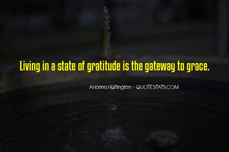 Living With Gratitude Quotes #47160