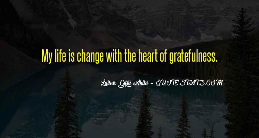 Living With Gratitude Quotes #500074