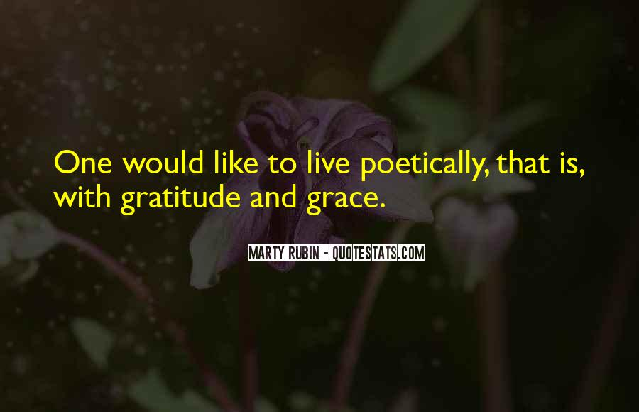 Living With Gratitude Quotes #688980