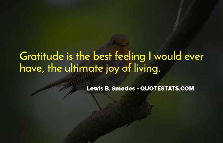 Living With Gratitude Quotes #712850