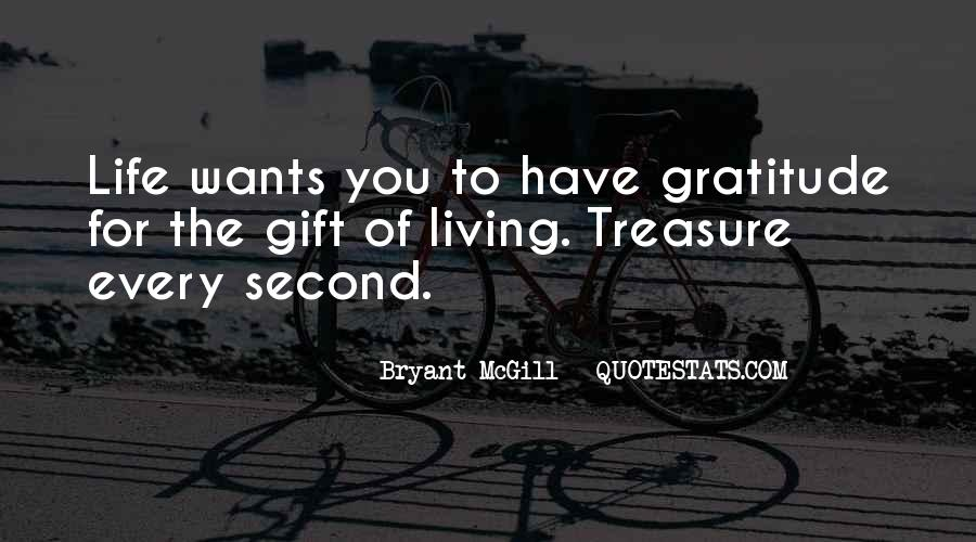 Living With Gratitude Quotes #718155