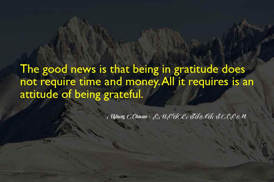 Living With Gratitude Quotes #978366