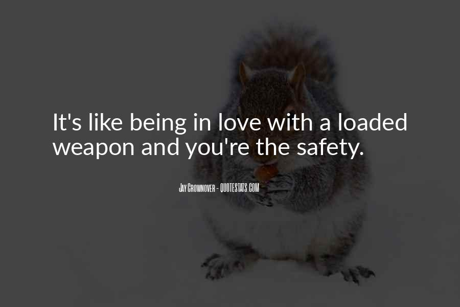 Loaded Weapon Quotes #124303