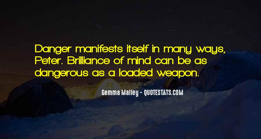 Loaded Weapon Quotes #658032