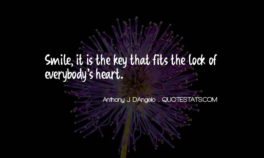 Lock And Key Heart Quotes #103344