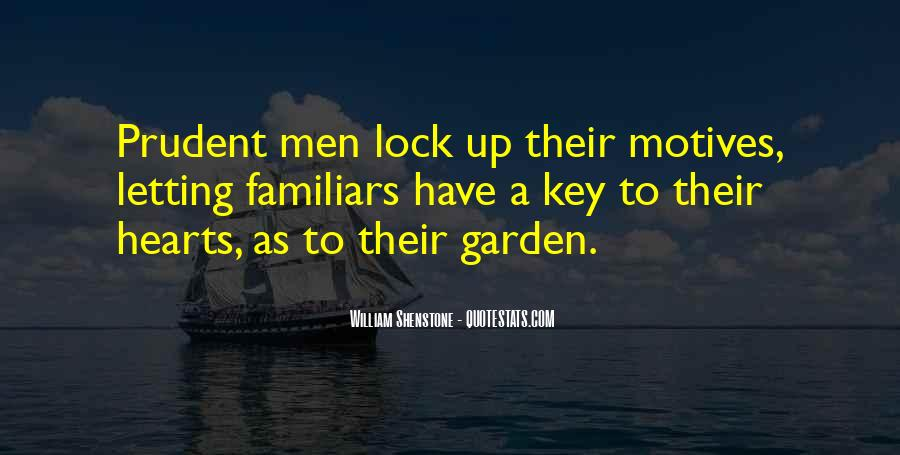 Lock And Key Heart Quotes #1487129