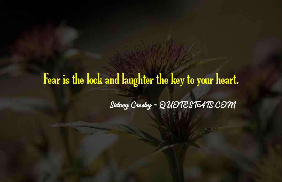 Lock And Key Heart Quotes #1797827