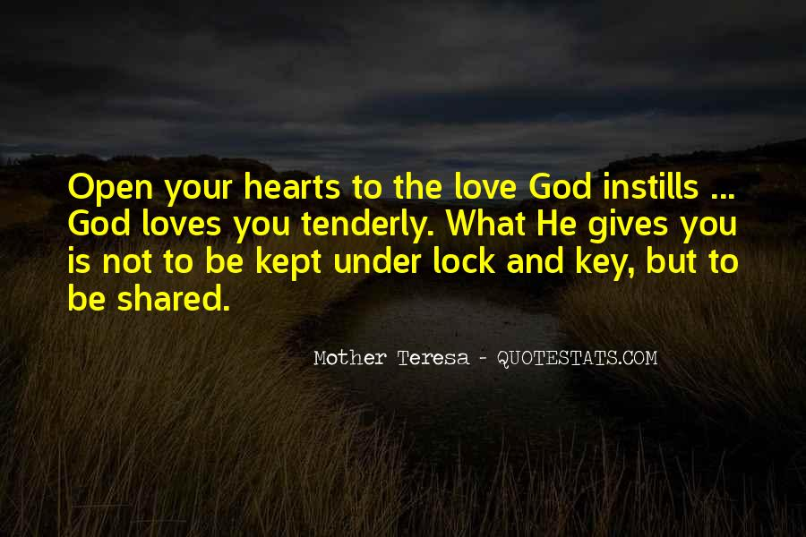 Lock And Key Heart Quotes #710937