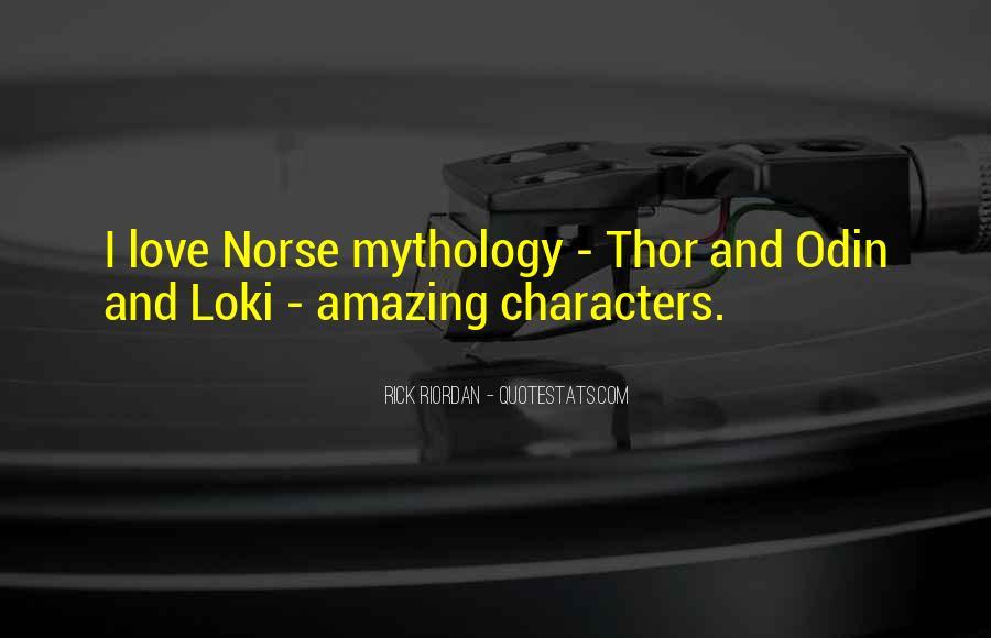Loki Norse Quotes #1290369