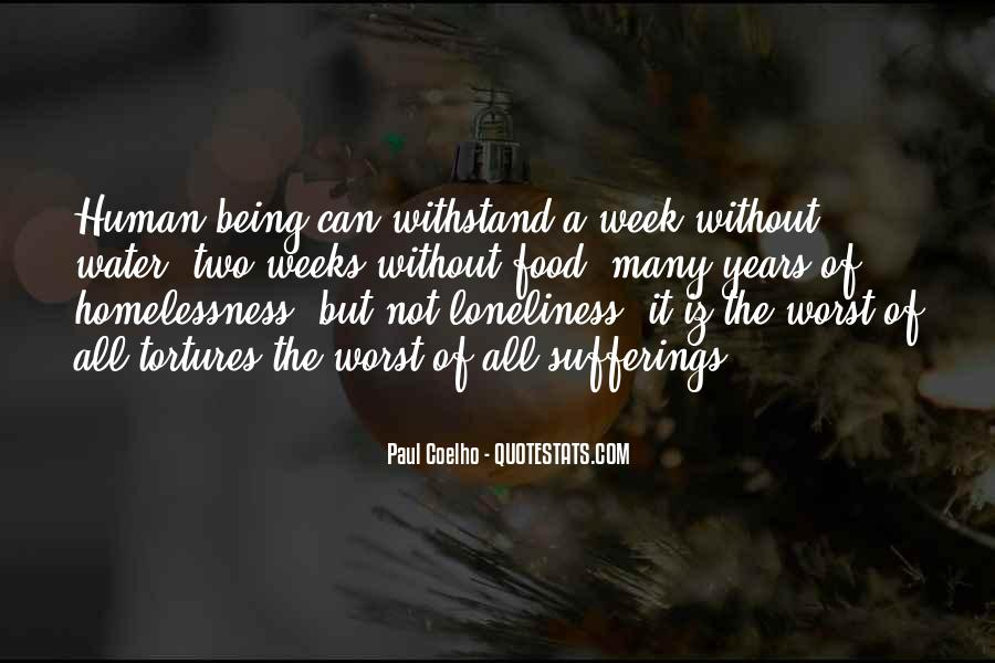 Loneliness Without Love Quotes #1047372