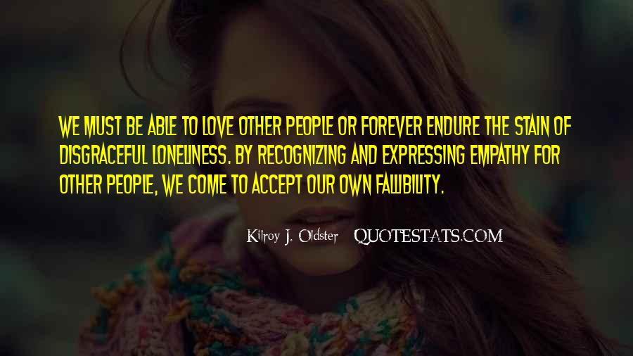 Loneliness Without Love Quotes #93551