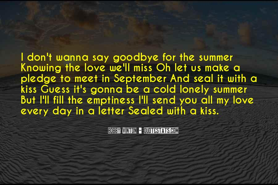 Lonely And Cold Quotes #1447621