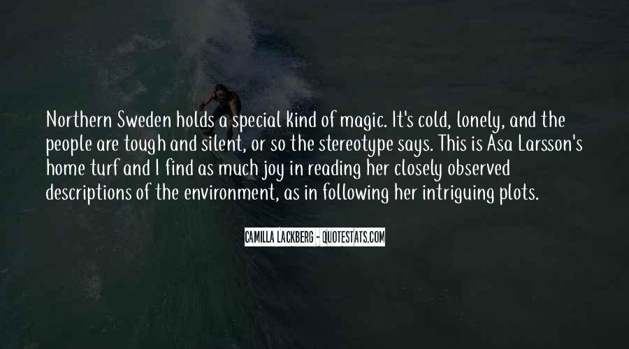 Lonely And Cold Quotes #435560