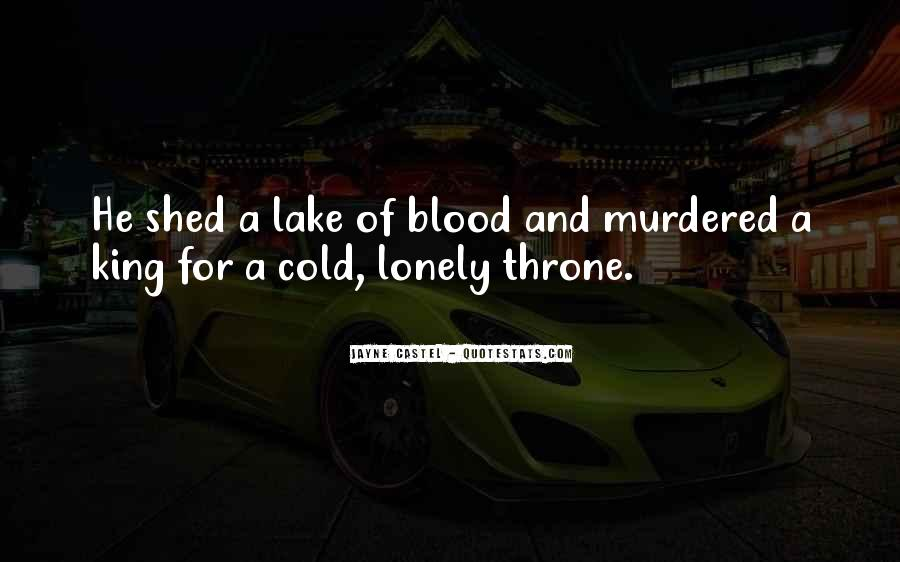 Lonely And Cold Quotes #951706