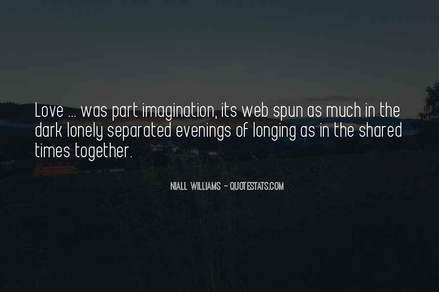 Lonely Evenings Quotes #1838726